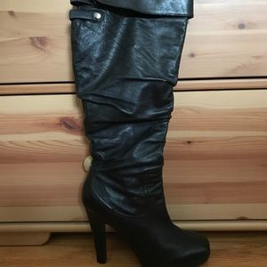 Jessica Simpson ruched ✨knee-high✨ boots
